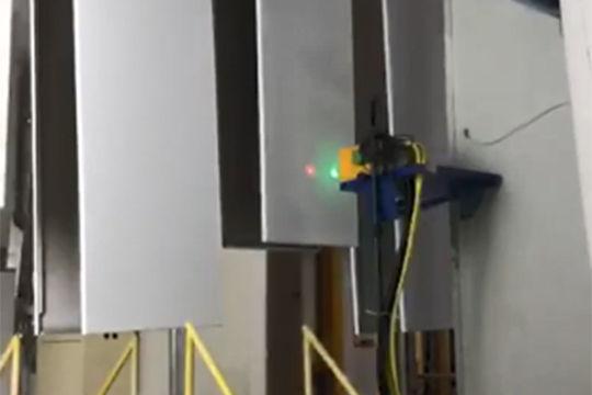 铝型材生产线连续测厚案例 涂魔师Inline在线式非接触式无损测厚